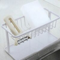 Kitchen Sponge Sink Tidy Holder Storage Rack Suction Strainer Organizer Ra Nice