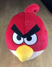 LARGE 32cm ANGRY BIRDS RED SOFT TOY PLUSH, EXCELLENT CONDITION