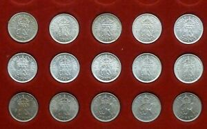 George VI Sixpences 1937-51 Selected Quality EF-UNC-BU Choose coin from menu
