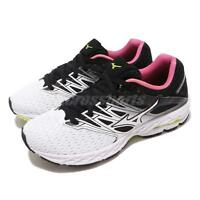 Mizuno Wave Shadow 2 White Black Pink Womens Running Shoes J1GD1830-16