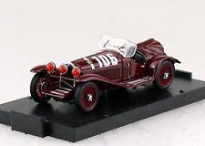 Alfa Romeo 2300 Mile miglia #106 rojo 1932 1:43 Vroom coche modelo r078