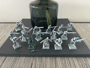 GW Warhammer AoS Fantasy Empire Handgunners + Metal Pistol Champion Mordheim