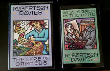 What's Bred In The Bone &The Lyre of Orpheus by Robertson Davies (2 Hardcovers)