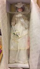 FLORA 1900s Bride Classic Brides of the Century ASHTON DRAKE Porcelain Doll 18