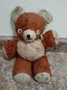 Vintage Cubbi Gund Teddy bear Brown