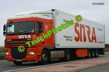 Truck Photo TR-00257 DAF XF Reg:- FAD342 Op:- Sitra M20 Dover Lorry Kent