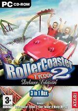 Roller Coaster Tycoon 2 - Deluxe Edition von NAMCO BANDA... | Game | Zustand gut