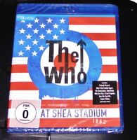 THE WHO LIVE AT SHEA STADIUM 1982  BLU RAY SCHNELLER VERSAND NEU & OVP