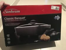 Sunbeam Classic Banquet Electric  Frying Pan