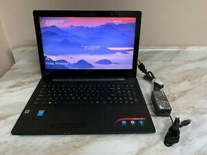 """LENOVO G50-80 15.6"""" Laptop   INTEL I3-4030U 1.90GHZ   1TB   12GB RAM   W10"""