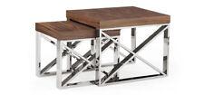 Less than 60cm High Walnut Nested Tables