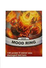Skylanders Battlecast Collector's Card Gear Hot Head Mood Ring