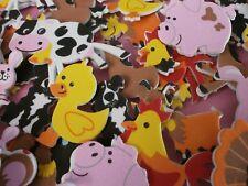 Farm Animal foam stickers  x 24  **school crafts**card making**crafts