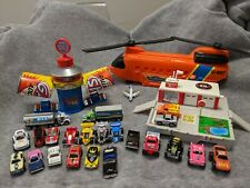 1980's Micro Machines   22 Vehicles   Chinook    Gas Additive   Travel Firehouse