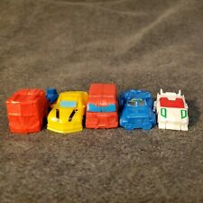 Transformers Cyberverse Tiny Turbo Changers LOT Of 5 Optimus Prime Soundwave Bee
