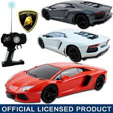 Official Licensed RC 1:18 LAMBORGHINI AVENTADOR LP700 Remote Control Car Kid Toy