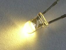 LED's Warm White 3mm  x 20 inc. res.