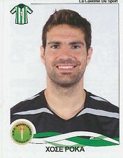 N°232 JOSE ROCA # ESPANA PANTHRAKIKOS STICKER PANINI GREEK GREECE LEAGUE 2010