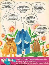 PUBLICITE  1975   SANOGYL   enfant  dentifrice