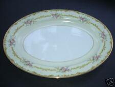Noritake N240 Green & Yellow Border - Large Platter