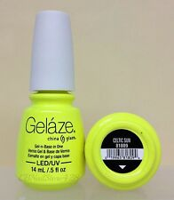 Gelaze by China Glaze -Nail Gel Polish- Gel-n-Base In One - Series 1 -Pick Color