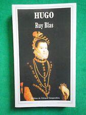 RUY BLAS VICTOR HUGO POCHE GARNIER FLAMMARION