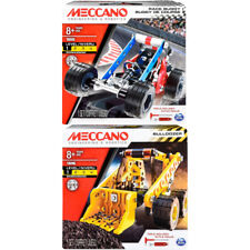 Meccano Building Kit Choose from Bulldozer or Race Buggy New