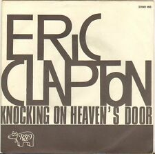 "ERIC CLAPTON ""KNOCKING ON HEAVEN'S DOOR"" 70'S SP RSO 2090166"