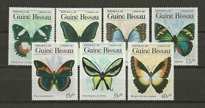 Guinea Bissau 1984 - Butterflies Nature  on postage  stamps MNH**
