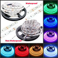 DC12V 5-20M 5050 RGB waterproof 300 LED Light Strip Flexible Ribbon 3M Tape lamp