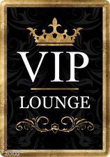 Nostalgic-Art Blechpostkarte 10x14 cm - VIP Lounge Black #