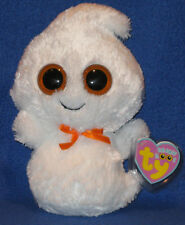 TY BEANIE BOOS - ORIGINAL GHOSTY the GHOST - NEAR PERFECT TAG - UK EXCLUSIVE
