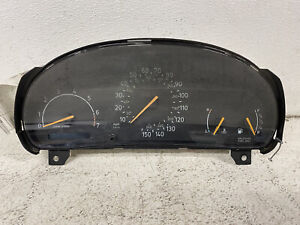 1996-1998 Saab 900 A/T cluster speedometer gauges tach panel EXCLUDING turbo oem