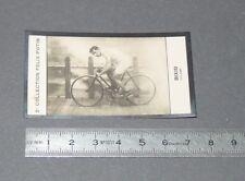 PHOTO IMAGE FELIX POTIN 2ème ALBUM 1907 CYCLISME BIXIO ITALIA CICLISMO CYCLING
