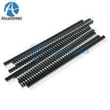 30PCS Strip Tin PCB Female IC Breakable 40pin Single Row Round Header Socket