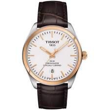 Tissot T101.451.26.031.00 PR 100 COSC Men's Watch Brown Leather 39mm