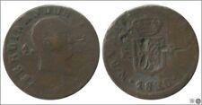 España Fernando VII 01657 BC / F 1 Maravedi 1830 Pamplona / Fernando III / Cu /