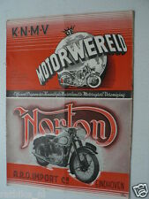 DMW 1949-10,SAROLEA 350CC 49BL ROADTEST,COVER NORTON,DMF-PUCH ADD,