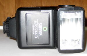 Sunpak Auto 244 D Thyristor Flash