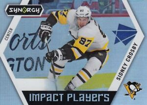 SIDNEY CROSBY NO:!P-50 IMPACT PLAYERS  in UD SYNERGY 2017-18