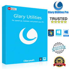 Glary Utilities Pro 5✅Full Version 2019✅Windows PC🔑Lifetime🔑Digital Download📩