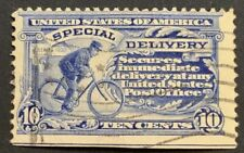 Travelstamps: US Stamps Scott # E6a 10c Special Delivery Used No Gum