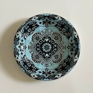 Vintage Tin Dish / Bowl By Daher Decorated Ware 1970s