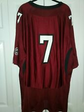 """Underarmour 2008 Mens XX-Large South Carolina Forever To Thee """"7"""" Jersey Red"""
