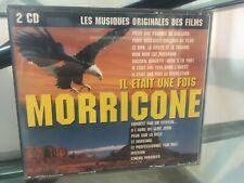 RARE COFFRET 2 CD IL ÉTAIT UNE FOIS MORRICONE LES MUSIQUES ORIGINALES DES FILMS