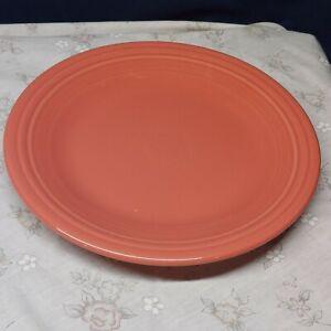 """Fiestaware DINNER PLATE """"Flamingo"""" Backstamp """"AAAB"""""""