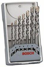 Bosch Professional Set 7 Pezzi di punte da calcestruzzo CYL-3, Ø 4-10 mm