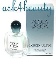 Acqua Di Gioia By Giorgio Armani 0.17Oz/5ml Edp Splash Mini For Women New in Box