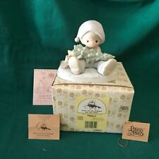 """New ListingPrecious Moments 1989 """"522112"""" """"Don'T Let The Holidays Get You Down"""" New In Box"""