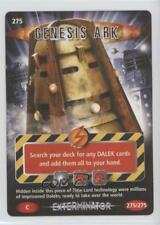 2006 Doctor Who: Battles in Time - Trading Card Game #275 Genesis Ark Gaming 2e7